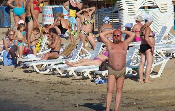пляже,Анапа отзывы о пляже